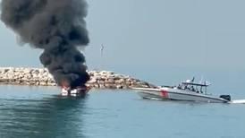 Two hurt in boat fire off Ras Al Khaimah coast