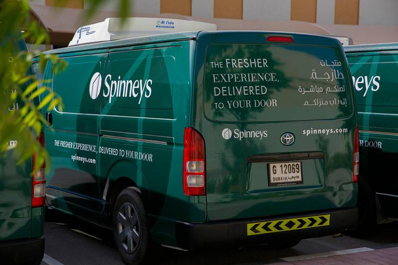 Spinneys new delivery vehicles _ {Dubai}, {United Arab Emirates}, October 2, 2019 (Photo by Mohammad Adel Rashid/ITP Images);17-05- 2020 _ Spinneys new delivery vehicles