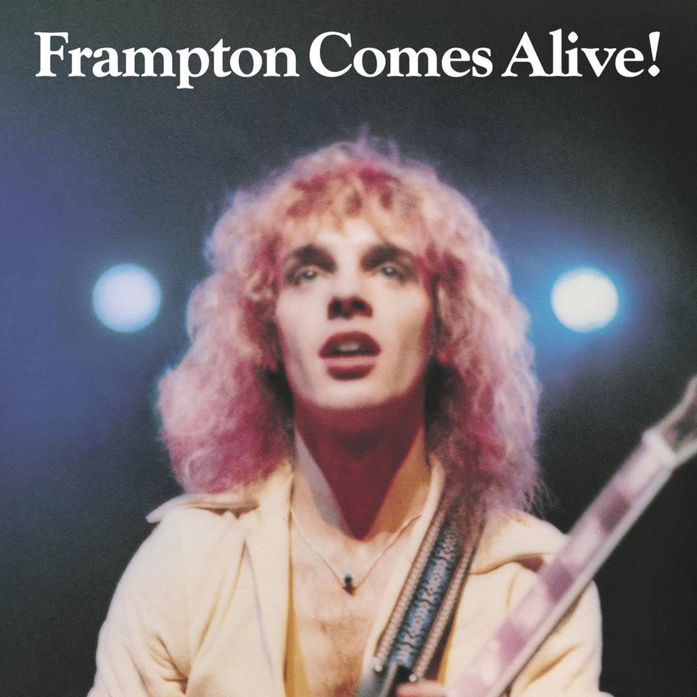 Peter Frampton's Frampton Comes Alive. Courtesy A&M Records
