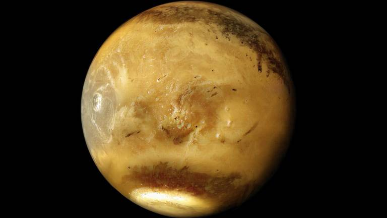 An image that illustrates this article Create your own Mars: UAE data allows space fans to depict Red Planet