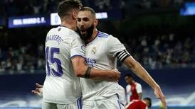 Karim Benzema hat-trick gives Real Madrid winning return to Bernabeu - in pictures