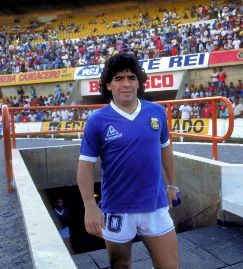 Diego Maradona Argentina Stock  Mandatory Credit : Action Images