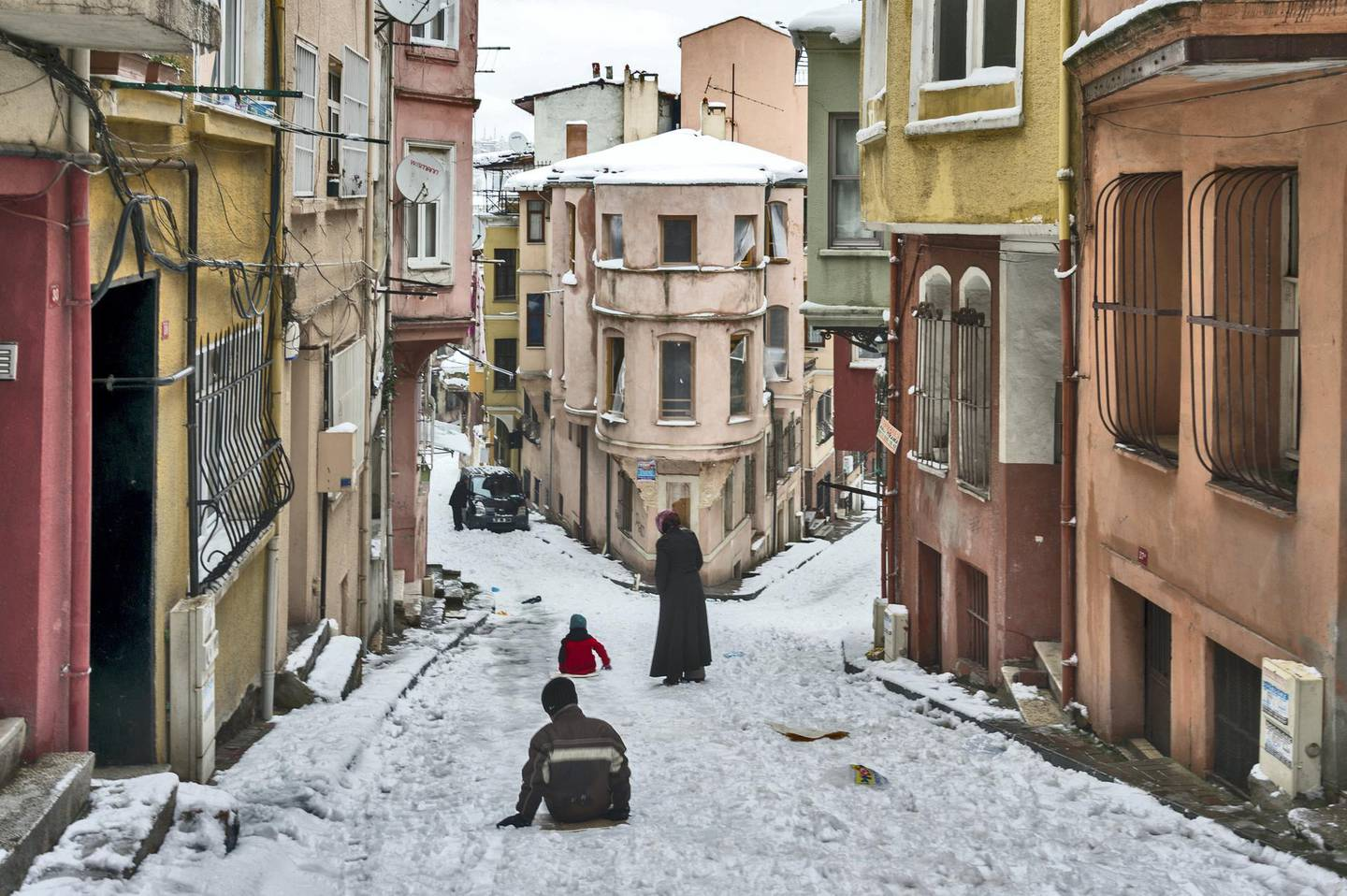 Balat is the traditional Jewish quarter in the Fatih district of Istanbul. It is located on the European side of Istanbul, in the old city on the historic peninsula, on the western bank of the Golden Horn.