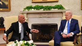 Biden promises Afghanistan's Ghani support, even as withdrawal looms