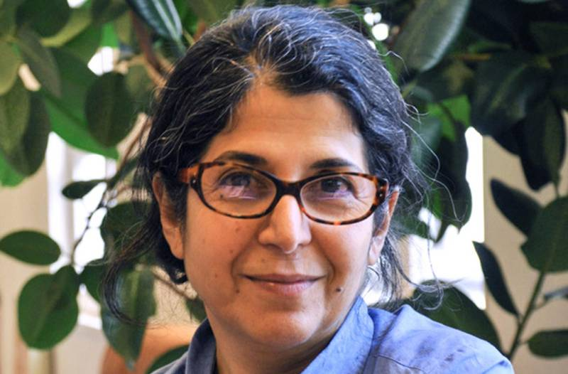 """(FILES) In this file photo taken on September 19, 2012 and released on July 16, 2019 by Sciences Po university, Franch-Iranian academic Adelkhah Fariba is pictured at an undisclosed location. Adelkhah, jailed in Iran since last year, has been transferred to a prison hospital after her health deteriorated following a hunger strike, her lawyer said on February 25, 2020. The academic ended a six-week hunger strike on February 12 as she awaits trial on charges including conspiring against national security. Adelkhah, a specialist in Shiite Islam and a research director at Sciences Po University in Paris, was arrested in June 2019 and is being held in Evin prison in Tehran.  - RESTRICTED TO EDITORIAL USE - MANDATORY CREDIT """"AFP PHOTO / SCIENCES PO / THOMAS ARRIVE"""" - NO MARKETING NO ADVERTISING CAMPAIGNS - DISTRIBUTED AS A SERVICE TO CLIENTS ---  / AFP / Sciences Po / Thomas ARRIVE / RESTRICTED TO EDITORIAL USE - MANDATORY CREDIT """"AFP PHOTO / SCIENCES PO / THOMAS ARRIVE"""" - NO MARKETING NO ADVERTISING CAMPAIGNS - DISTRIBUTED AS A SERVICE TO CLIENTS ---"""