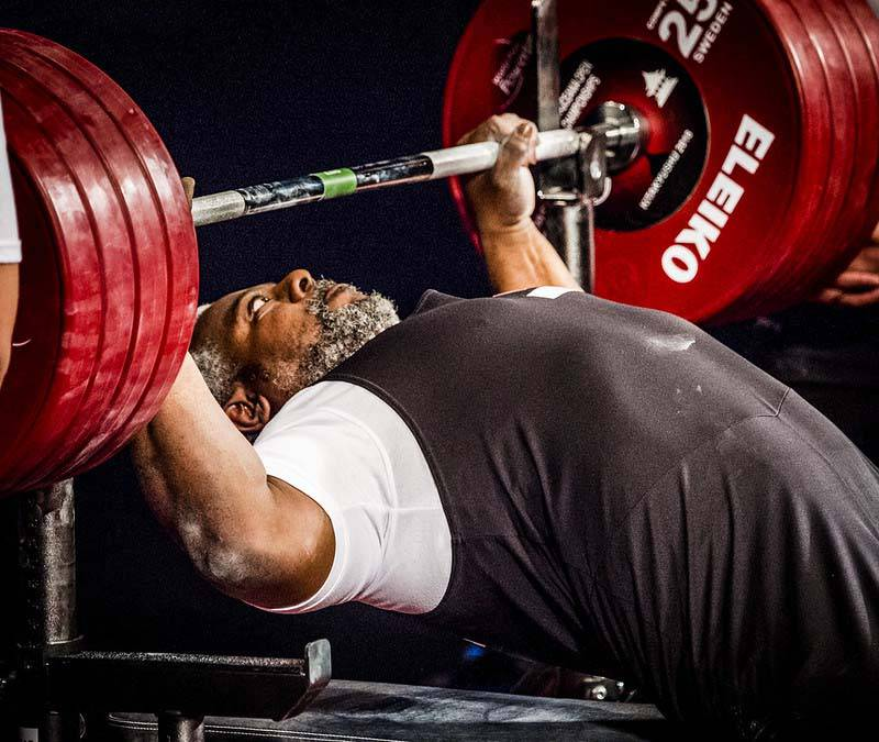 UAE Paralympic powerlifter Mohammed Khamis Khalaf. Courtesy Asian Paralympic Committee