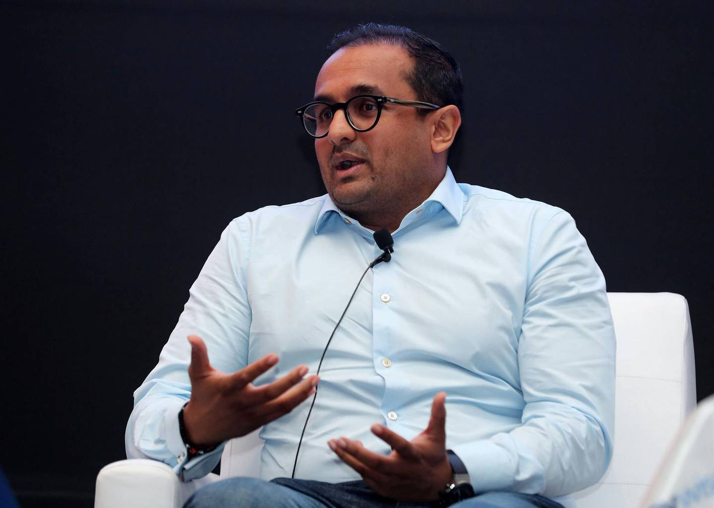Dubai, United Arab Emirates - June 26th, 2018: Jayash Patel, Head of Liv speaks at Manage Your Money, Build Your Future event. Tuesday, June 26th, 2018 in Emirates Towers, Dubai. Chris Whiteoak / The National