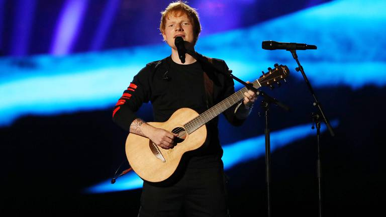 An image that illustrates this article Ed Sheeran tests positive for Covid-19 a week before album release