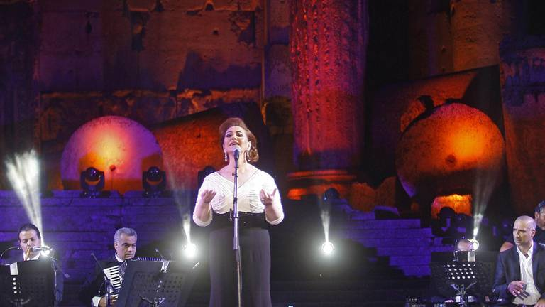 An image that illustrates this article Syrian songbird Mayada El Hennawy to perform at Dubai Opera