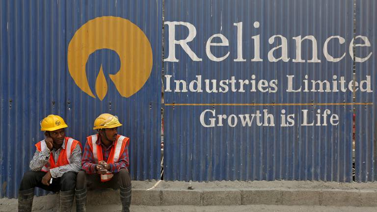An image that illustrates this article India's Reliance posts 43% jump in second-quarter profit to exceed pre-Covid levels