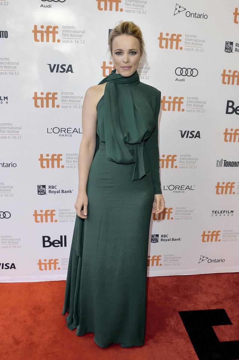 """TORONTO, ON - SEPTEMBER 10:  Actress Rachel McAdams attends the """"To The Wonder"""" premiere during the 2012 Toronto International Film Festival at the Princess of Wales Theatre on September 10, 2012 in Toronto, Canada.  (Photo by George Pimentel/Getty Images)"""