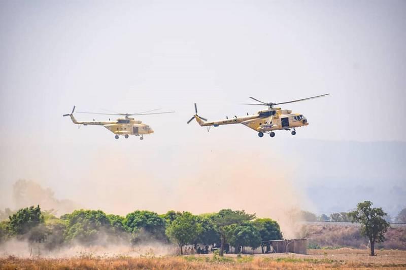 Nigerian MI-35 helicopter. Courtesy Nigerian Air Force