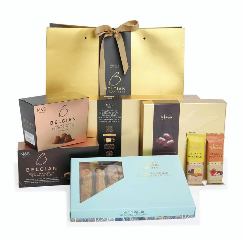 Marks & Spencer - Belgian Gift Bag AED 199
