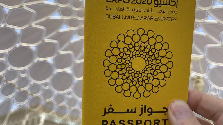 An image that illustrates this article How many Expo 2020 Dubai passport stamps can you get in one day?
