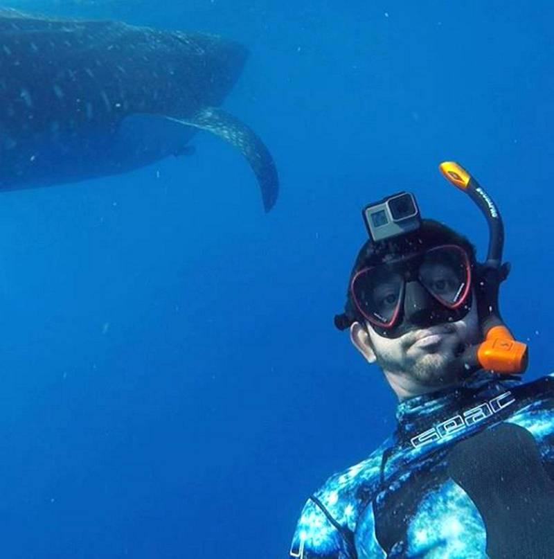 Selfie with a Whale Shark!