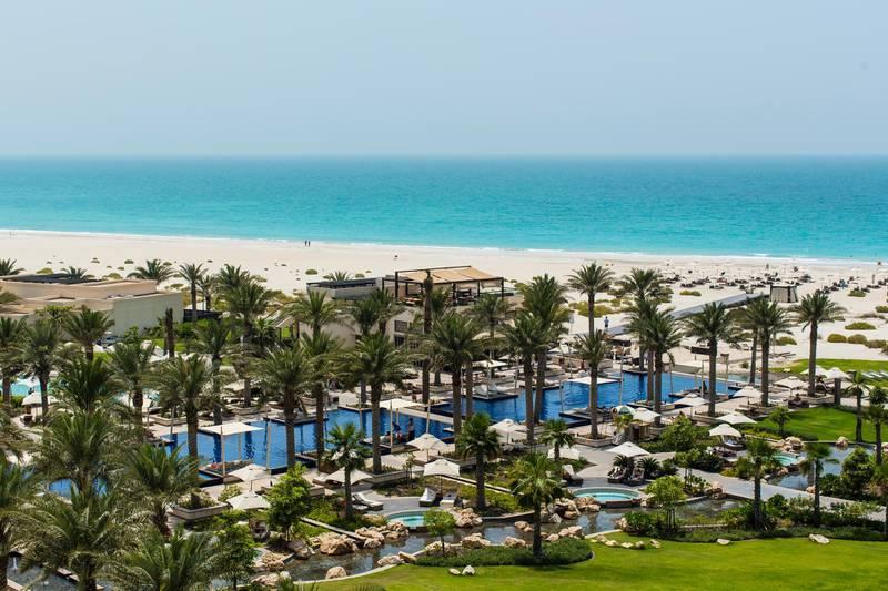 A handout photo of the beach at Park Hyatt Abu Dhabi (Courtesy: Park Hyatt Abu Dhabi Hotel and Villas) *** Local Caption ***  al23no-f1-parkhyatt.jpg