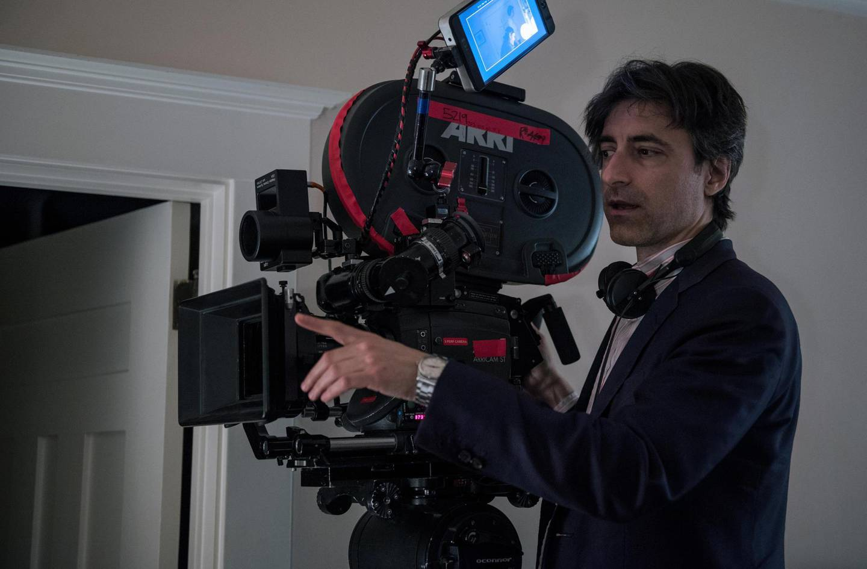 Noah Baumbach on the set of Marriage Story. Wilson Webb / Netflix