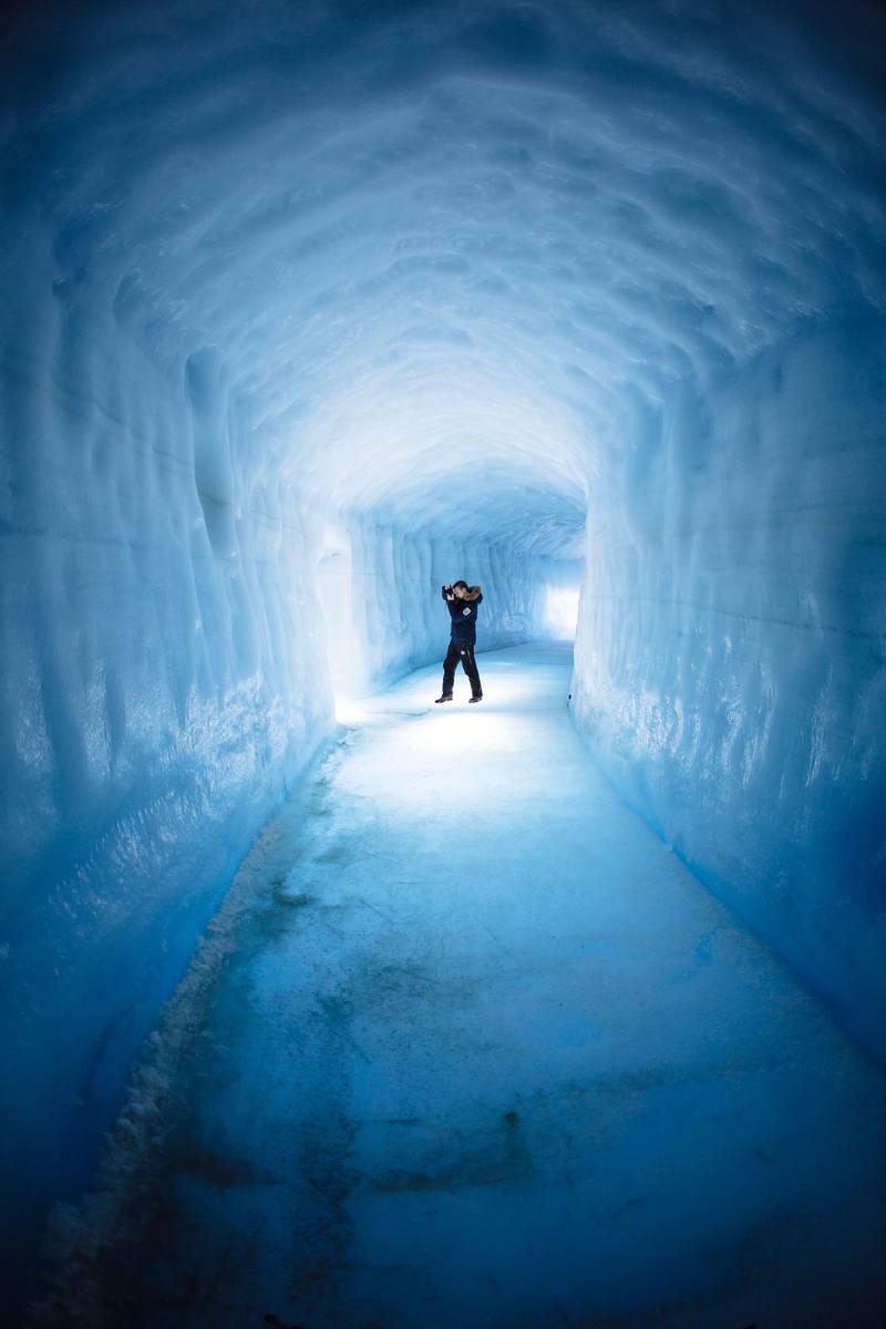 Into the glacier/ Langjökull. Courtesy of Into The Glacier