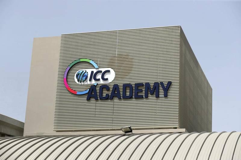 Dubai, United Arab Emirates - Reporter: N/A. Stock. General View of the ICC Academy, Dubai. Sunday, July 19th, 2020. Dubai. Chris Whiteoak / The National