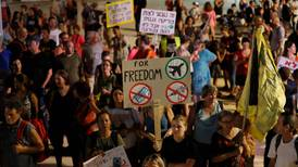 Israelis protest against new rules to combat rising Covid cases