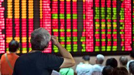 Asia shares dive with S&P 500