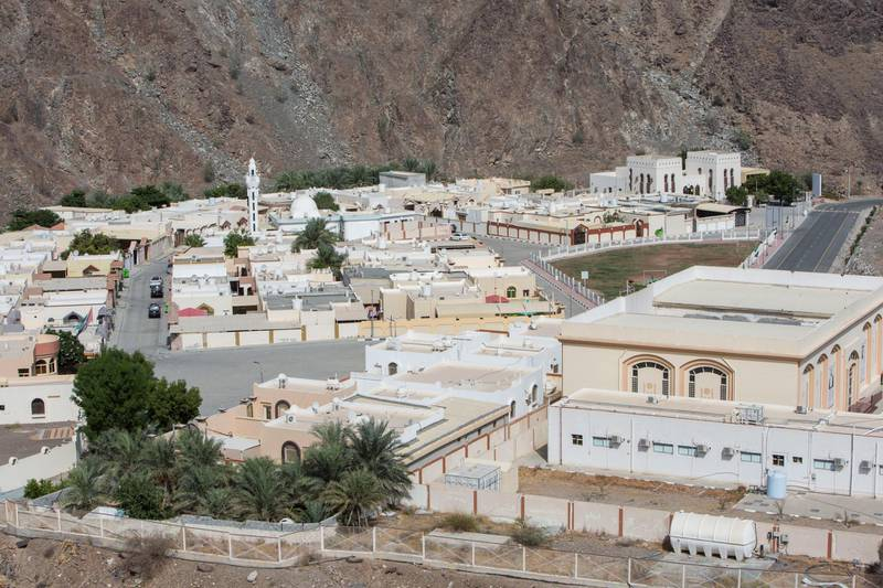 Sharjah, United Arab Emirates-  The small village of Al Nahwa in Sharjah.  Leslie Pableo for The National for Ruba Haza