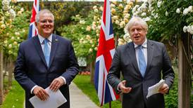 'A new dawn': UK and Australia agree to terms of free trade deal