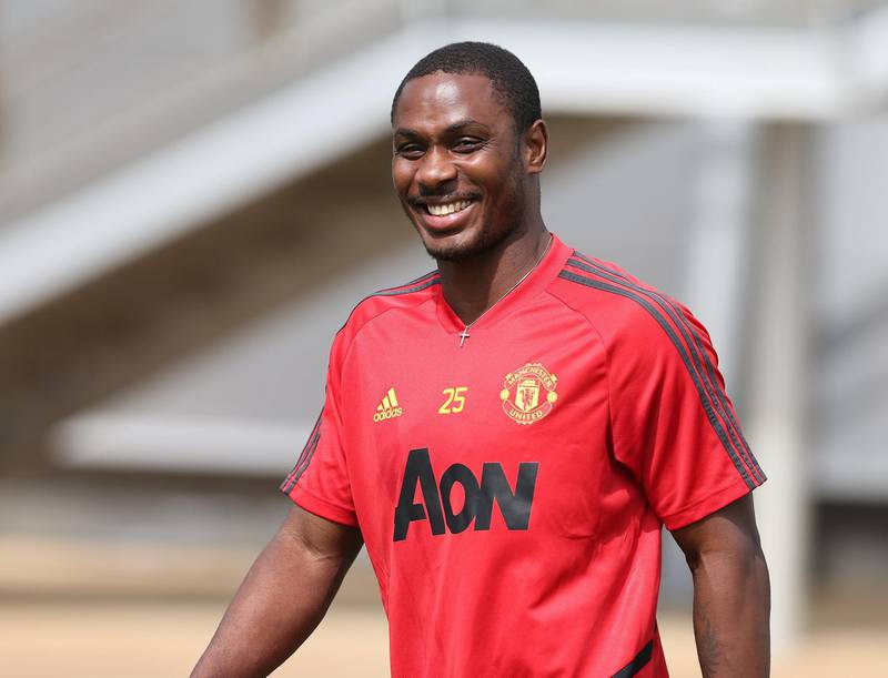MANCHESTER, ENGLAND - JUNE 17: (EXCLUSIVE COVERAGE) Odion Ighalo of Manchester United at Aon Training Complex on June 17, 2020 in Manchester, England. (Photo by Matthew Peters/Manchester United via Getty Images)