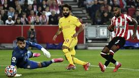 Brentford v Liverpool player ratings: Toney 7, Ajer 6; Salah 7, Mane 3