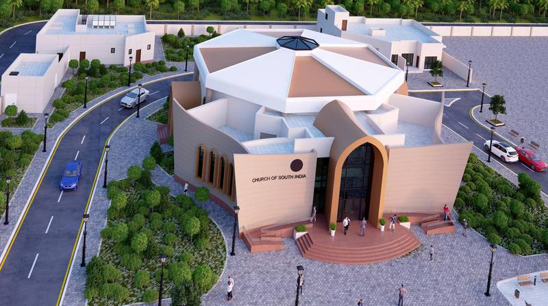 The Church of South India will be located in the Abu Mureikha area of Abu Dhabi.  More than four acres of land was granted for the shrine by Sheikh Mohamed bin Zayed, Crown Prince of Abu Dhabi and Deputy Supreme Commander of the Armed Forces. The foundation stone laying ceremony is this weekend. Construction is expected to take one year with the shrine opening in early 2021. Permission for the shrine has been hailed as a symbol of religious freedom and tolerance in the UAE. Courtesy: Church of South India