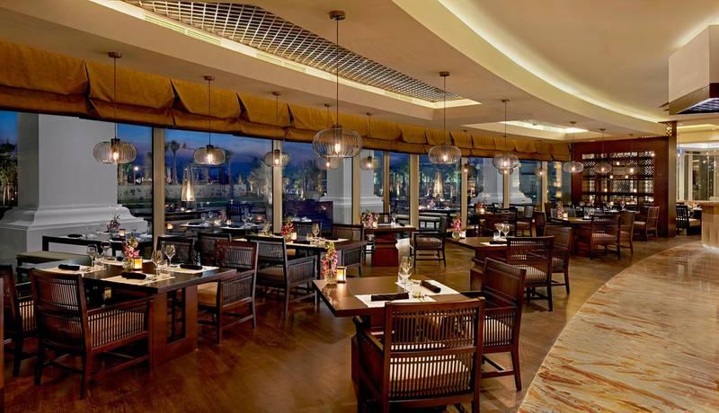 the restaurant Lao at the Waldorf Astoria Dubai Palm Jumeirah. For Adam Workman review, July 2014, A&L CREDIT: Courtesy Waldorf Astoria Dubai Palm Jumeirah