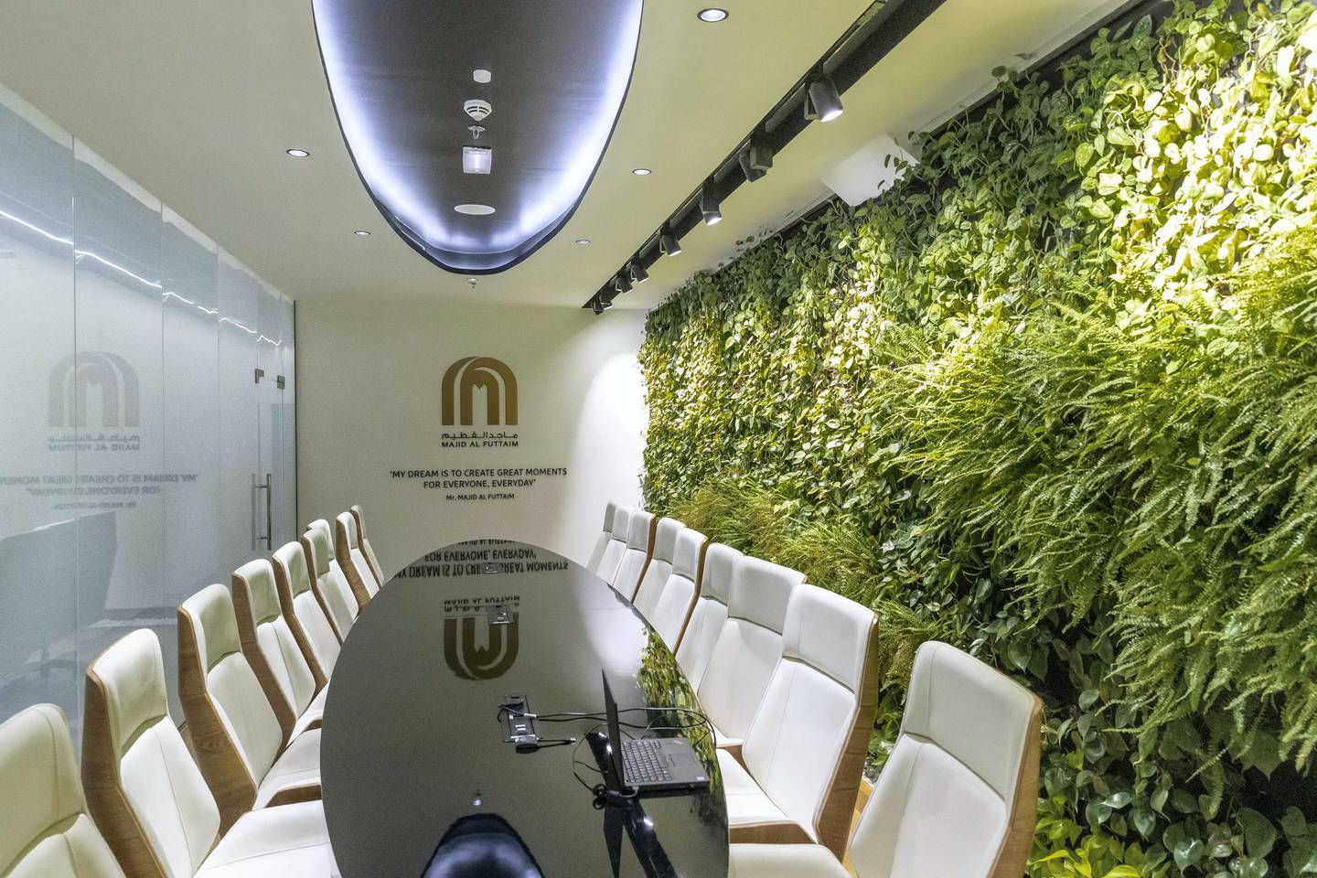DUBAI, UNITED ARAB EMIRATES. 23 JANUARY 2019. Majid Al Futtain Retail Business School at Ibn Battuta Mall.  Media tour of the facility including classrooms and general areas. (Photo: Antonie Robertson/The National) Journalist: Alice Haine. Section: Business.