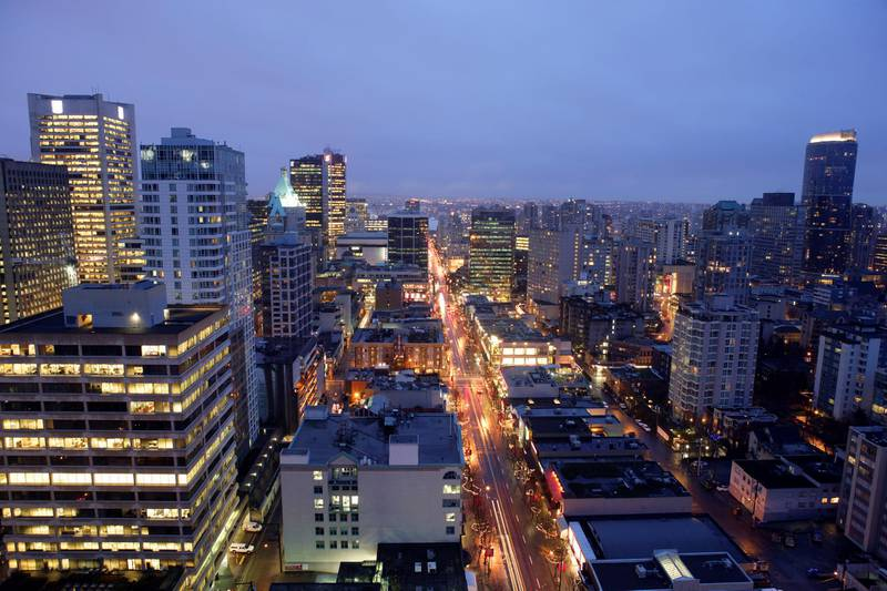 Vancouver, British Columbia, Canada. (Photo by Steven Miric/Construction Photography/Avalon/Getty Images)