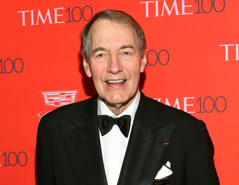 FILE - In this April 26, 2016 file photo, Charlie Rose attends the TIME 100 Gala, celebrating the 100 most influential people in the world in New York.  The Washington Post says eight women have accused television host Charlie Rose of multiple unwanted sexual advances and inappropriate behavior. CBS News suspended Charlie Rose and PBS is to halt production and distribution of a show following the sexual harassment report.  (Photo by Evan Agostini/Invision/AP, File)