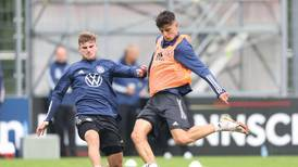 Werner, Havertz and Muller train with Germany ahead of World Cup qualifiers - in pictures