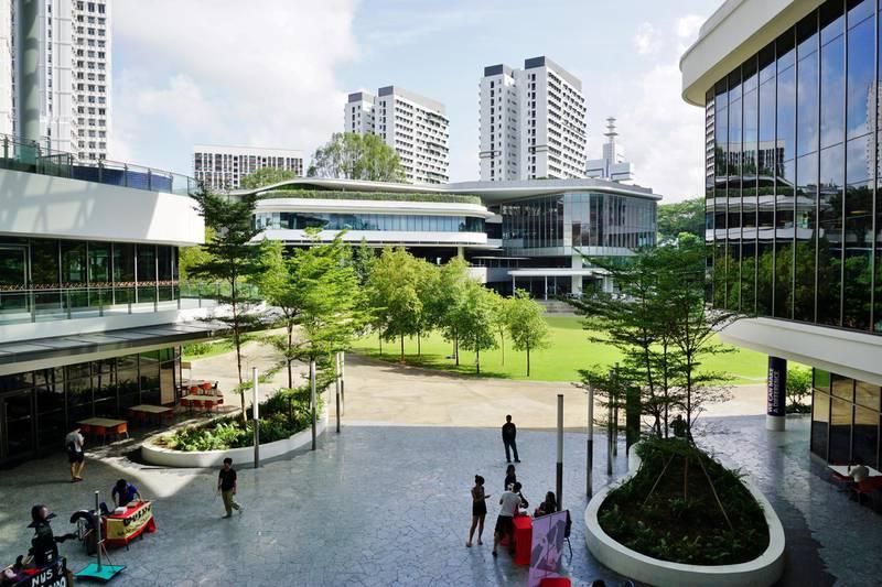FK0X1G Campus of the National University of Singapore (NUS)