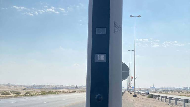 An image that illustrates this article Abu Dhabi to install more than 700 new high-tech speed cameras