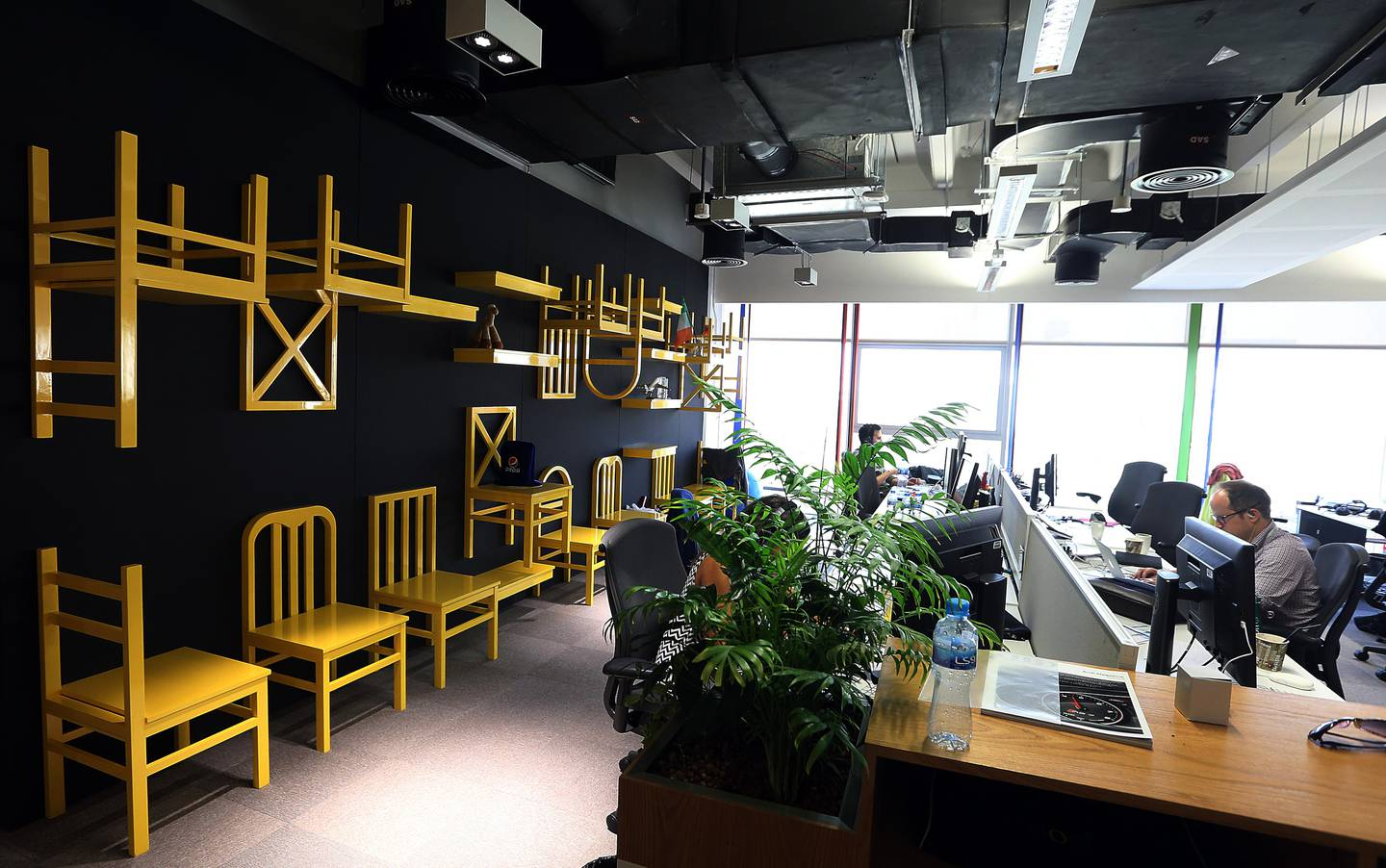 Dubai, 17, May, 2017:  Google Office at the Internet City in Dubai.  ( Satish Kumar / The National )  ID No: 75149 Section: Business Reporter: Jessica Hill *** Local Caption ***  SK-Google-17052017-018.jpg