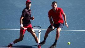 Novak Djokovic suffers doubles defeat ahead of Japan Open singles debut