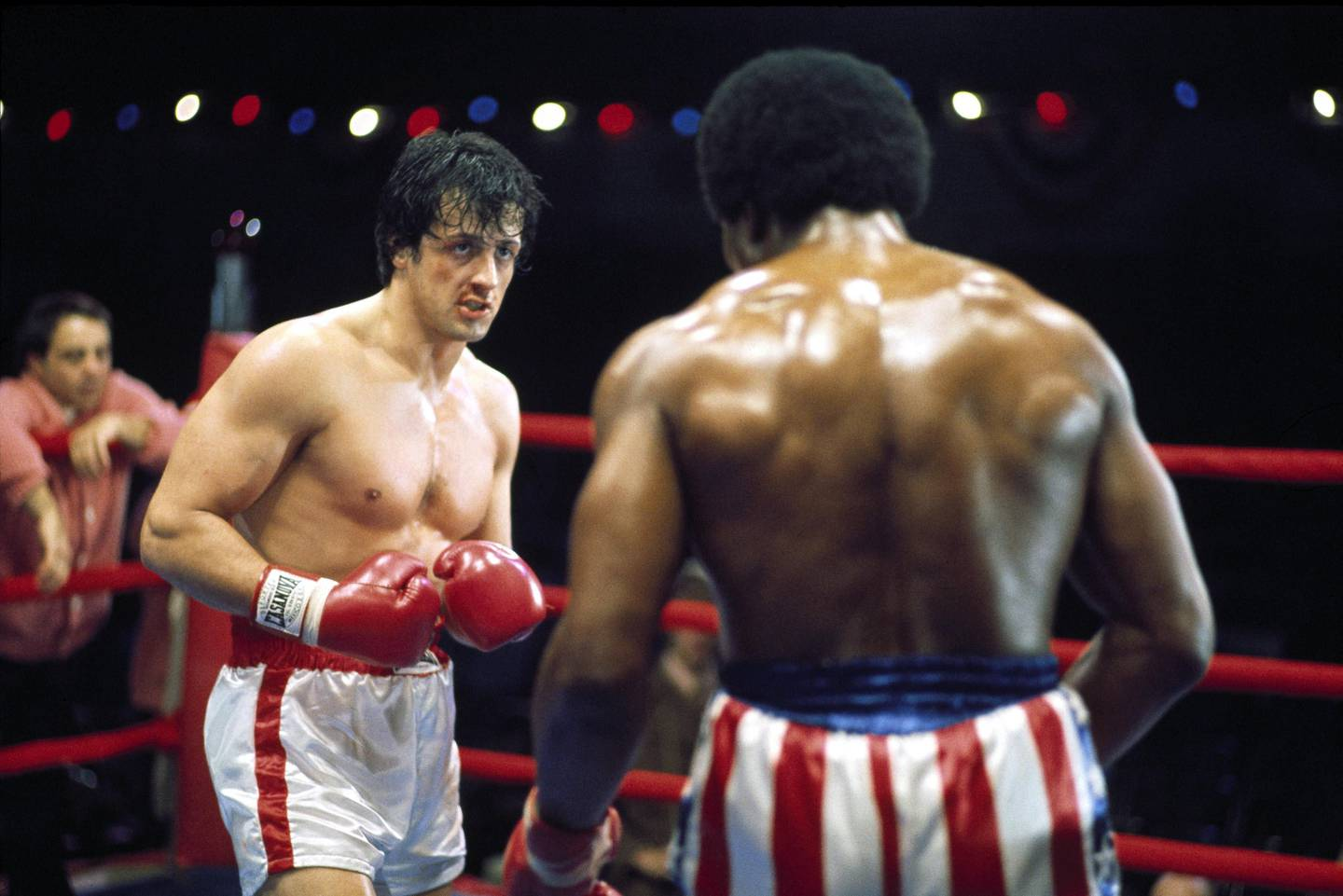 Sylvester Stallone in Rocky. Courtesy Metro-Goldwyn-Mayer and United Artists
