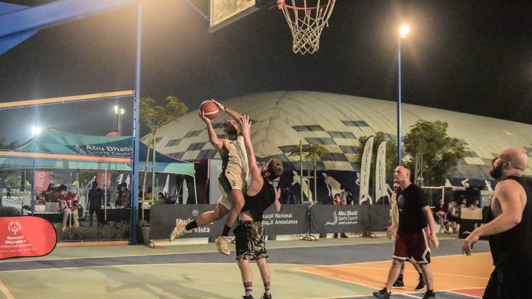 An image that illustrates this article Special Olympics athletes compete to represent Abu Dhabi at global tournament