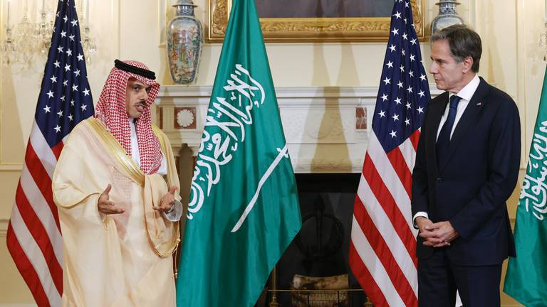 An image that illustrates this article Iran talks 'cordial' but no 'substantial progress', Saudi foreign minister says