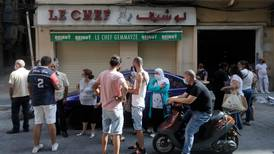 Blast hits Beirut's beloved Le Chef hard