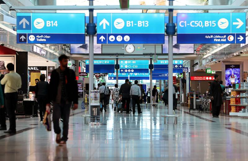 Passengers are seen in the duty free area in departure hall at terminal three of Dubai Airports in Dubai, United Arab Emirates, December 26, 2018. Picture taken December 26, 2018. REUTERS/ Hamad I Mohammed