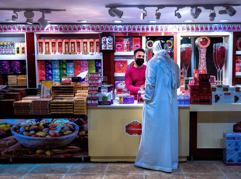 Abu Dhabi, United Arab Emirates, January 10, 2021.  Safron from Iran at the Sheikh Zayed Festival.Victor Besa/The NationalSection:  NAReporter:  Saeed Saeed
