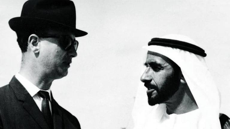 An image that illustrates this article UK diplomat who witnessed Abu Dhabi history dies days before 100th birthday