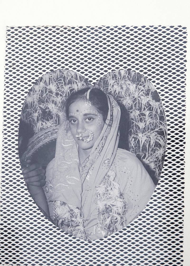 DUBAI, UNITED ARAB EMIRATES. 26 NOVEMBER 2020. Wedding album of Mahendra Mulchand and Damayanti. (Photo: Reem Mohammed/The National)Reporter: Anna ZachariasSection: NA NATIONAL DAY