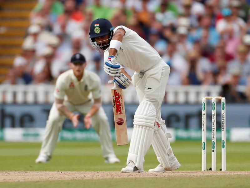 Cricket - England v India - First Test - Edgbaston, Birmingham, Britain - August 3, 2018   India's Virat Kohli in action   Action Images via Reuters/Andrew Boyers