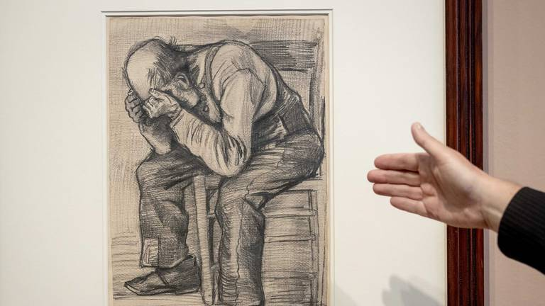 An image that illustrates this article New 'rare' Van Gogh drawing discovered and goes on display for first time