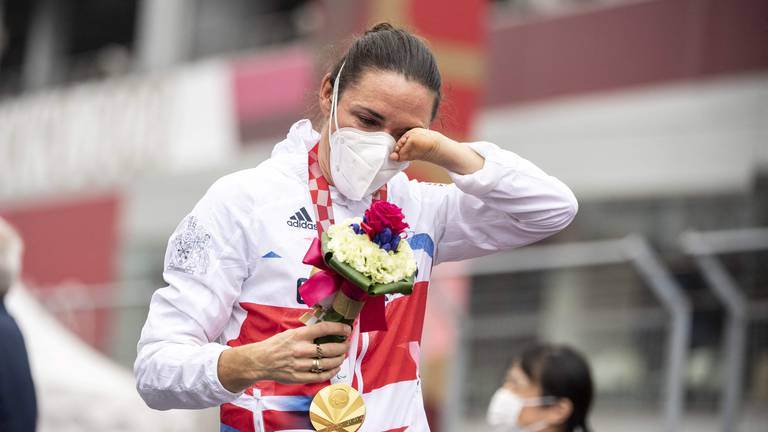 An image that illustrates this article Sarah Storey wins becomes Britain's most successful Paralympian